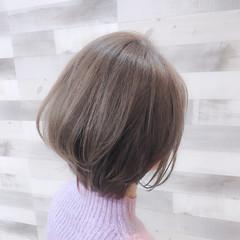 ボブ 艶髪 透明感 イルミナカラー ヘアスタイルや髪型の写真・画像