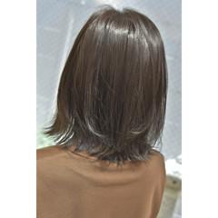 ミルクティーグレージュ ボブ シルバーグレージュ ラベンダーグレージュ ヘアスタイルや髪型の写真・画像