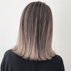 ヌーディベージュ アッシュベージュ ピンクベージュ ミルクティーベージュ ヘアスタイルや髪型の写真・画像
