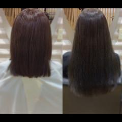ヘアケア ロング ナチュラル 髪質改善 ヘアスタイルや髪型の写真・画像