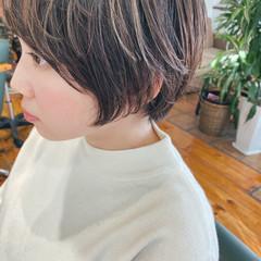 ショートボブ マッシュショート ショート モード ヘアスタイルや髪型の写真・画像