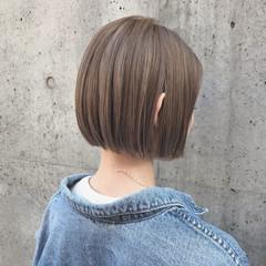 ナチュラル ボブヘアー ボブ モテ髪 ヘアスタイルや髪型の写真・画像