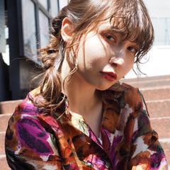 デート モード ヘアアレンジ スポーツ ヘアスタイルや髪型の写真・画像