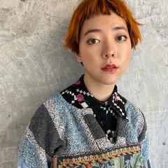 前髪 モテ髪 ガーリー 透明感 ヘアスタイルや髪型の写真・画像