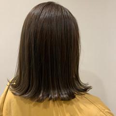 切りっぱなしボブ 外ハネ 外ハネボブ ボブ ヘアスタイルや髪型の写真・画像