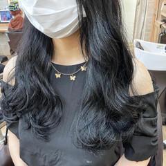 透明感カラー ブリーチなし ナチュラル 韓国風ヘアー ヘアスタイルや髪型の写真・画像