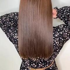 髪質改善 トリートメント ロング 美髪 ヘアスタイルや髪型の写真・画像