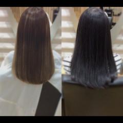 髪質改善カラー ロング 髪質改善 髪質改善トリートメント ヘアスタイルや髪型の写真・画像
