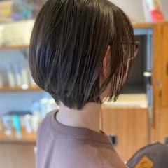 小顔ショート マッシュショート ショート ミニボブ ヘアスタイルや髪型の写真・画像
