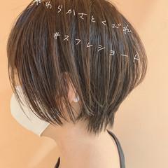 小顔ショート ショートヘア ショートボブ ショート ヘアスタイルや髪型の写真・画像