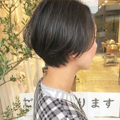 ショートボブ ショートヘア 小顔ショート マッシュショート ヘアスタイルや髪型の写真・画像