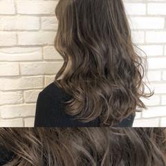 ブランジュ ショコラブラウン ブラウンベージュ ナチュラル ヘアスタイルや髪型の写真・画像