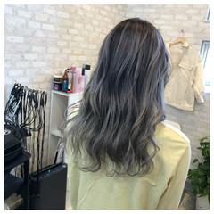 外国人風カラー ストリート バレイヤージュ ブリーチカラー ヘアスタイルや髪型の写真・画像