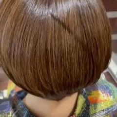 艶髪 髪質改善トリートメント トリートメント ボブ ヘアスタイルや髪型の写真・画像