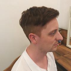 刈り上げ モード メンズ ボーイッシュ ヘアスタイルや髪型の写真・画像