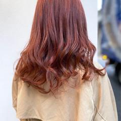 ミルクティー エレガント セミロング ハイライト ヘアスタイルや髪型の写真・画像