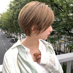 大人女子 ナチュラル オーガニックカラー ハイトーンカラー ヘアスタイルや髪型の写真・画像