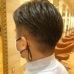 ショート メンズ 刈り上げ ナチュラル ヘアスタイルや髪型の写真・画像
