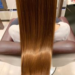 艶髪 ナチュラル トリートメント ツヤ髪 ヘアスタイルや髪型の写真・画像