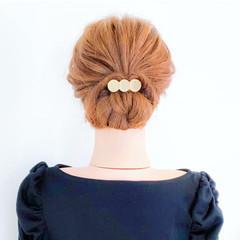 三つ編み 簡単ヘアアレンジ ショート フェミニン ヘアスタイルや髪型の写真・画像