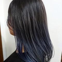 グラデーションカラー フェミニン ナチュラルグラデーション コントラストハイライト ヘアスタイルや髪型の写真・画像