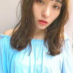 ナチュラル 涼しげ 大人かわいい 夏 ヘアスタイルや髪型の写真・画像