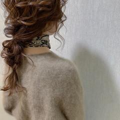 ヘアアレンジ 結婚式 簡単ヘアアレンジ ロング ヘアスタイルや髪型の写真・画像