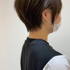 ナチュラル ショート ベリーショート ショートヘア ヘアスタイルや髪型の写真・画像