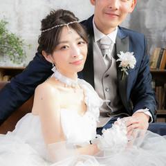 結婚式髪型 結婚式ヘアアレンジ ショート ブライダル ヘアスタイルや髪型の写真・画像