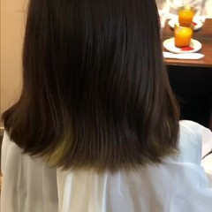 ストリート グラデーションカラー アウトドア ミニボブ ヘアスタイルや髪型の写真・画像