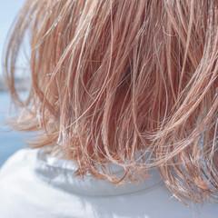 外ハネ 外ハネボブ くすみカラー ナチュラル ヘアスタイルや髪型の写真・画像