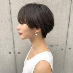 ショートヘア ナチュラル ショート女子 ショート ヘアスタイルや髪型の写真・画像