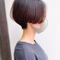 ショートボブ 大人かわいい ショート 簡単スタイリング ヘアスタイルや髪型の写真・画像