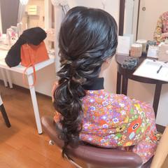 ナチュラル 結婚式 ロング アンニュイほつれヘア ヘアスタイルや髪型の写真・画像