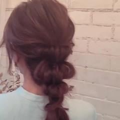 簡単ヘアアレンジ 涼しげ 夏 大人かわいい ヘアスタイルや髪型の写真・画像
