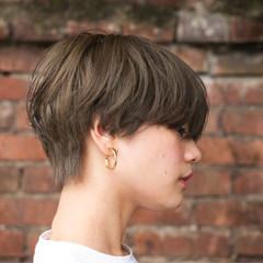 マッシュ 小顔 外国人風 似合わせ ヘアスタイルや髪型の写真・画像