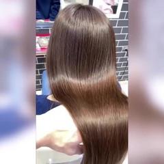 暗髪女子 暗髪 ロング エレガント ヘアスタイルや髪型の写真・画像