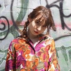 デート ヘアアレンジ モード パーマ ヘアスタイルや髪型の写真・画像