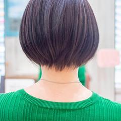 小顔ショート くびれボブ ショートボブ ショート ヘアスタイルや髪型の写真・画像