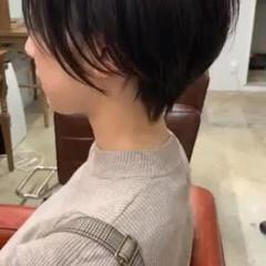 黒髪 ストレート 縮毛矯正 ストリート ヘアスタイルや髪型の写真・画像