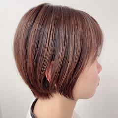モード ミニボブ ショートヘア ベリーショート ヘアスタイルや髪型の写真・画像