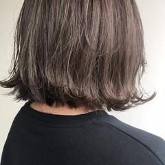 大人ハイライト シナモンベージュ ナチュラル 3Dハイライト ヘアスタイルや髪型の写真・画像