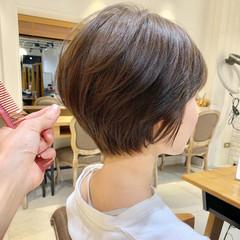 ヘアアレンジ ショート オフィス デート ヘアスタイルや髪型の写真・画像