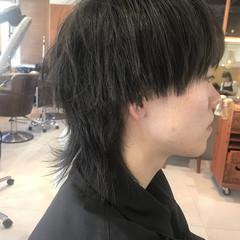モード メンズ メンズヘア ウルフカット ヘアスタイルや髪型の写真・画像