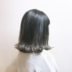 グラデーションカラー 外国人風カラー ガーリー オリーブアッシュ ヘアスタイルや髪型の写真・画像