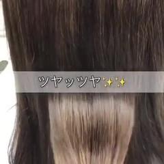 縮毛矯正 ナチュラル 髪質改善トリートメント ツヤ髪 ヘアスタイルや髪型の写真・画像