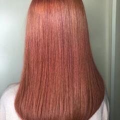 ナチュラル ピンクベージュ ピンクアッシュ ラベンダーピンク ヘアスタイルや髪型の写真・画像