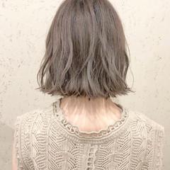 アンニュイほつれヘア ナチュラル 大人かわいい ミニボブ ヘアスタイルや髪型の写真・画像