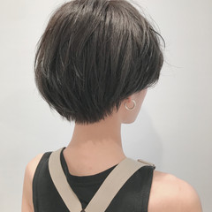 似合わせ ショート 簡単ヘアアレンジ デート ヘアスタイルや髪型の写真・画像