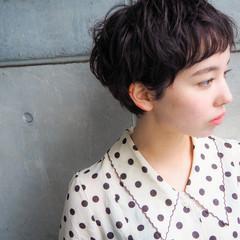 大人ヘアスタイル グレージュ ショート 外国人風 ヘアスタイルや髪型の写真・画像